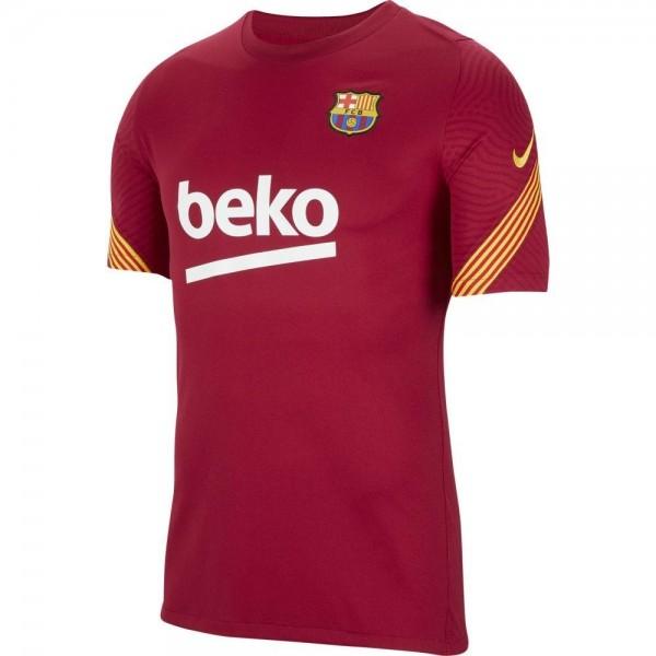 CD6029-621 Nike FC Barcelona Trainingsshirt 2020-2021 Kids
