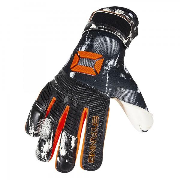 481367-8300 Stanno Keepershandschoenen Volare Pro Zwart Oranje