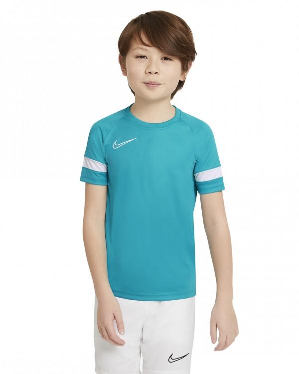 CW6103-356 Nike T-Shirt Dri-Fit Academy Top SS Kids Aquamarine