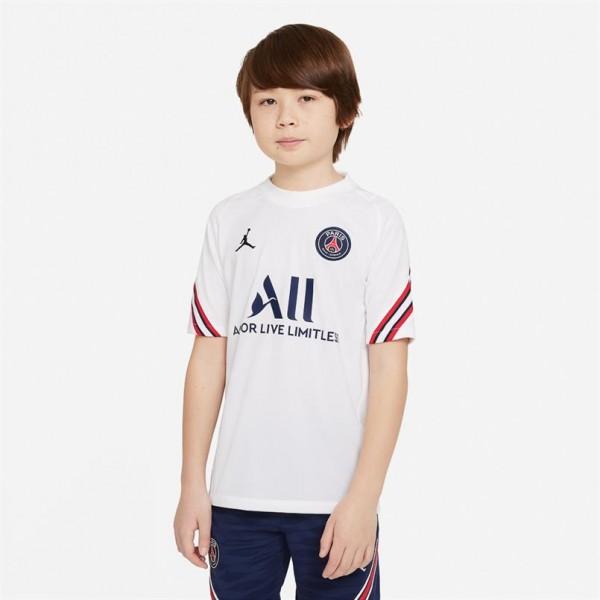 CW2158-101 Nike Paris Saint Germain Trainingsshirt 2021-2022 Kids