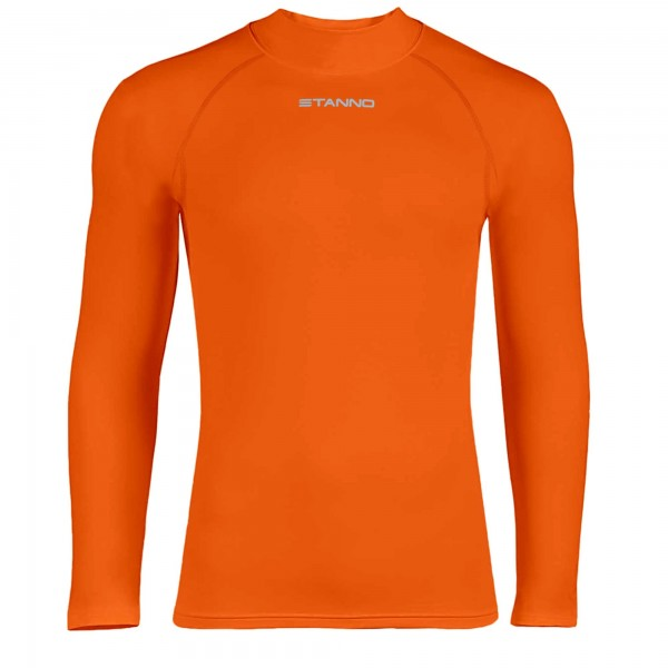 446100-3000 Stanno Ondershirt Thermoshirt Lange Mouw Oranje