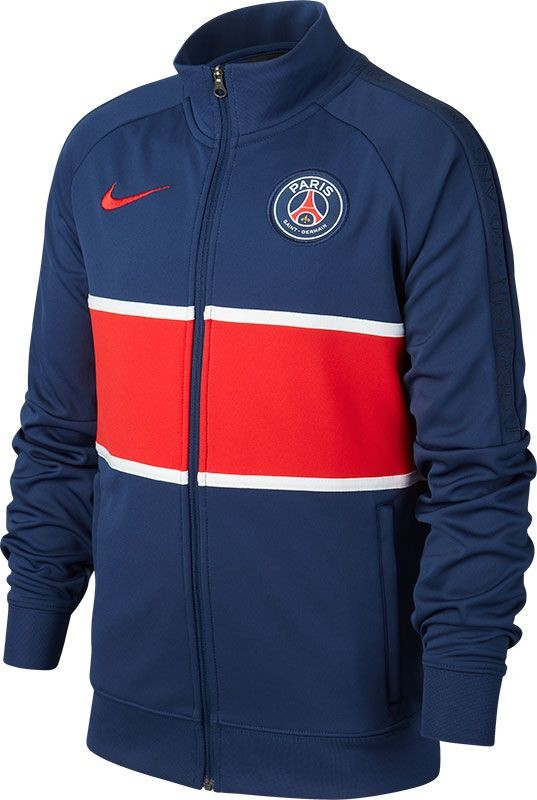 CI9281-410 Nike Paris Saint Germain Trainingsjack 2020-2021 Kids