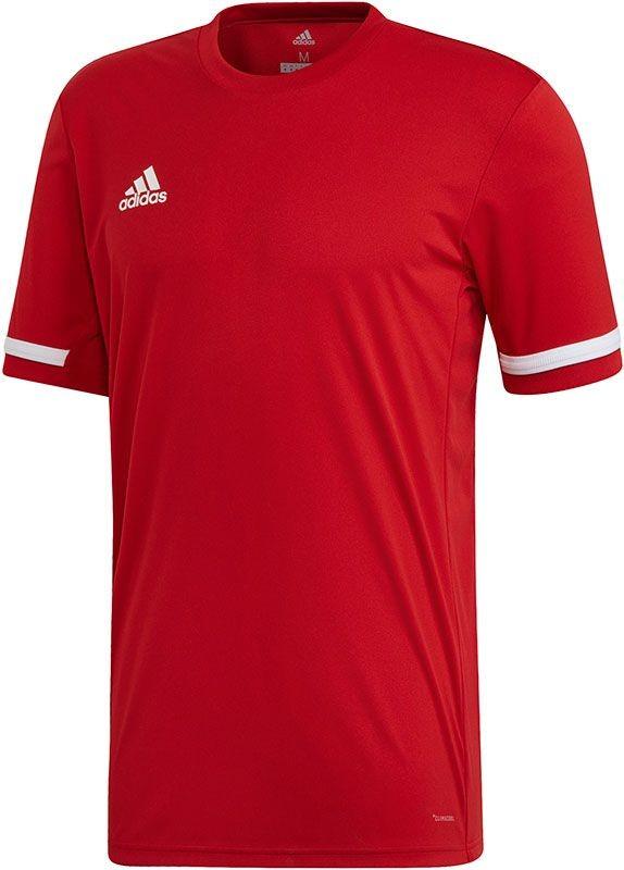 DX7242 adidas T-Shirt T19 SS Jersey Men Power Red