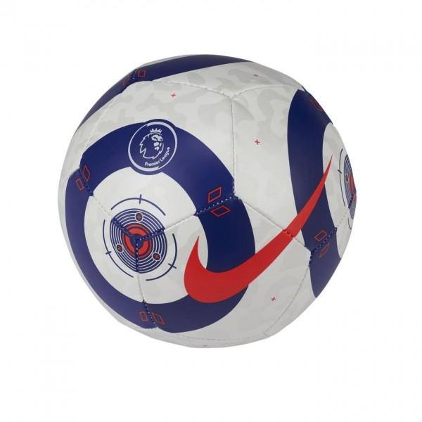 CQ7235-101 Nike Mini Voetbal Premier League Skills White Blue