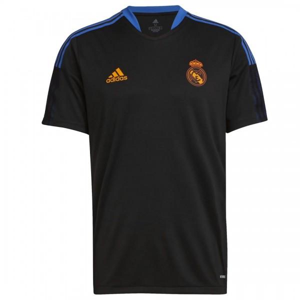 GR4323 adidas Real Madrid Trainingsshirt 2021-2022 Black