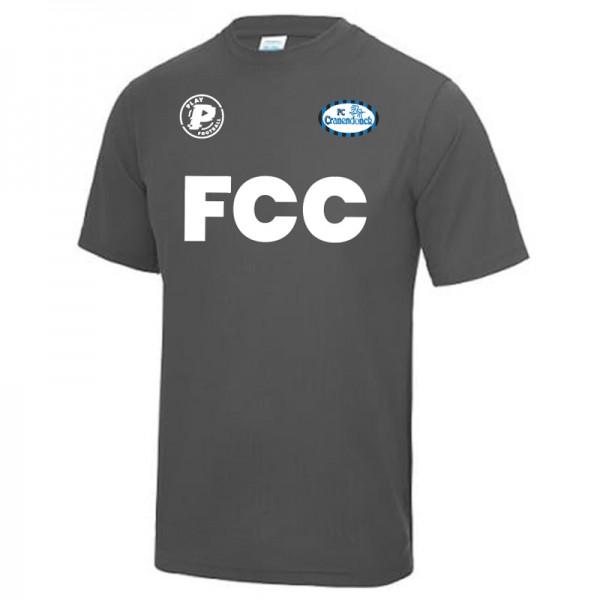 FCC.TEE.KDS-Grijs Play FC Cranendonck Actie Shirt 2020 Kids Grijs