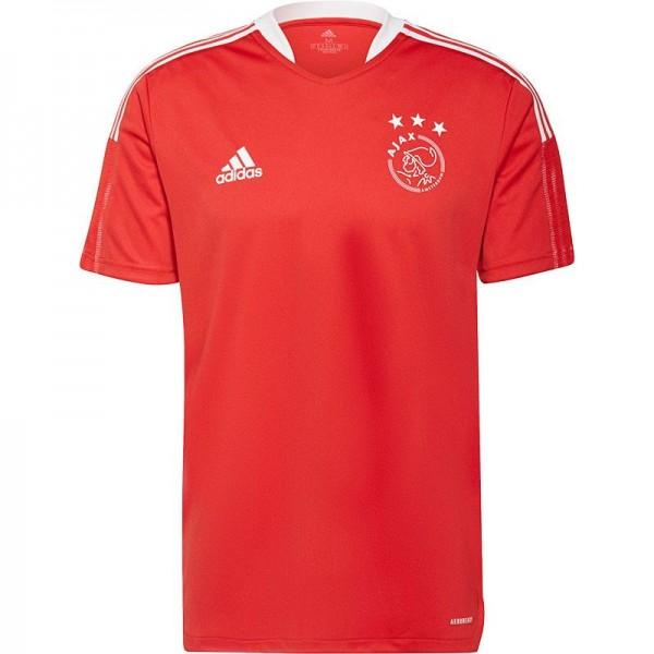 GT9569 adidas Ajax Trainingsshirt 2021-2022 Red