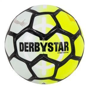 287957-4200 Derbystar Straatvoetbal Street Soccer Yellow White