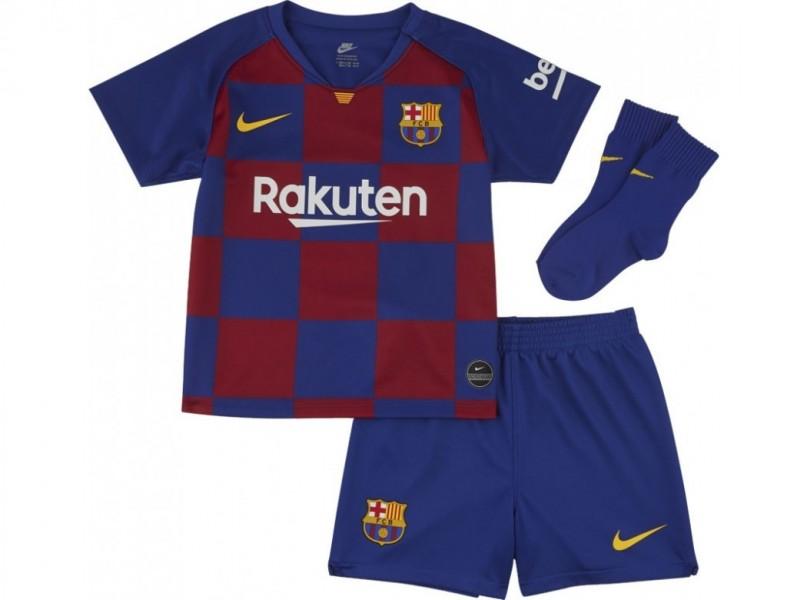 AO3072-456 Nike FC Barcelona Thuis Baby Set 2019-2020